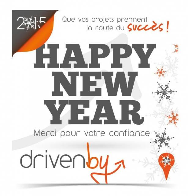Janvier 2015 : Happy New Year
